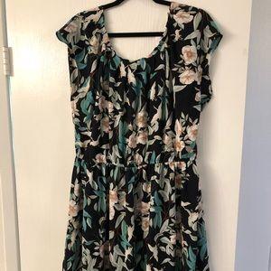 Floral LC dress